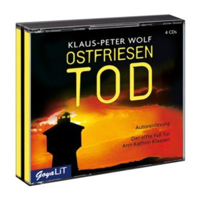Ostfriesentod, 4 Audio-CDs, Klaus-Peter Wolf