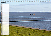 Ostfriesland - Der Dollart (Tischkalender 2019 DIN A5 quer) - Produktdetailbild 1