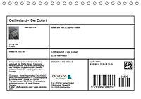 Ostfriesland - Der Dollart (Tischkalender 2019 DIN A5 quer) - Produktdetailbild 8