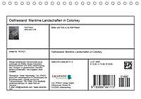 Ostfriesland Maritime Landschaften in Colorkey (Tischkalender 2019 DIN A5 quer) - Produktdetailbild 13