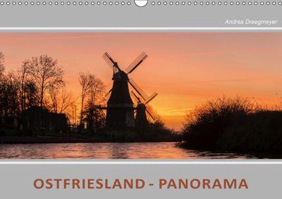 Ostfriesland Panorama (Wandkalender 2019 DIN A3 quer), Andrea Dreegmeyer