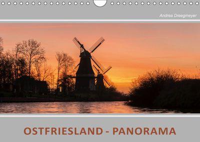 Ostfriesland Panorama (Wandkalender 2019 DIN A4 quer), Andrea Dreegmeyer