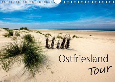 Ostfriesland - Tour (Wandkalender 2019 DIN A4 quer), H. Dreegmeyer