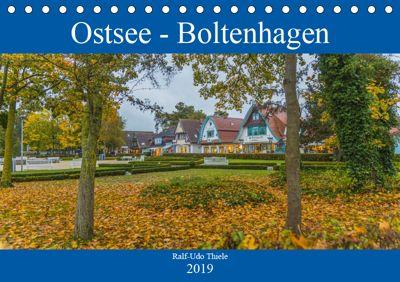 Ostsee - Boltenhagen (Tischkalender 2019 DIN A5 quer), Ralf-Udo Thiele