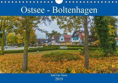 Ostsee - Boltenhagen (Wandkalender 2019 DIN A4 quer), Ralf-Udo Thiele