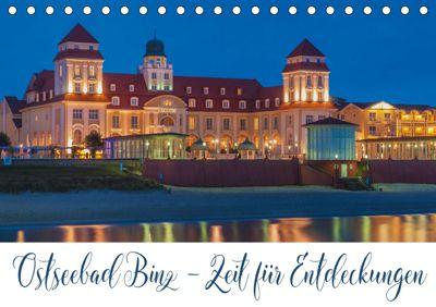 Ostseebad Binz - Zeit für Erholung (Tischkalender 2019 DIN A5 quer), Gunter Kirsch