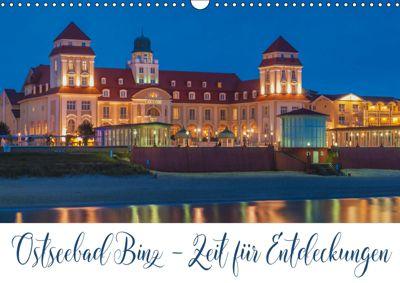 Ostseebad Binz - Zeit für Erholung (Wandkalender 2019 DIN A3 quer), Gunter Kirsch