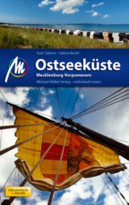 Ostseeküste - Mecklenburg Vorpommern Reiseführer, m. 1 Karte, Sven Talaron, Sabine Becht
