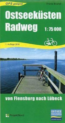 Ostseeküsten-Radweg, Radkarte, Frank Brandl