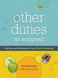 Other Duties as Assigned, Donna Bates, Jan Burgess