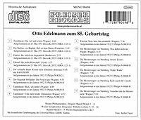 Otto Edelmann Zum 85. Geburtst - Produktdetailbild 1
