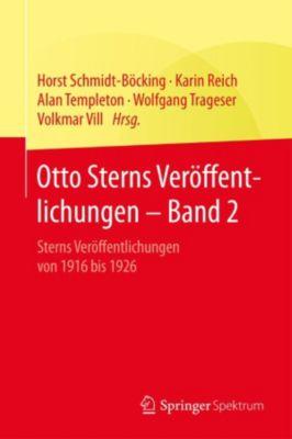 Otto Sterns Veröffentlichungen – Band 2