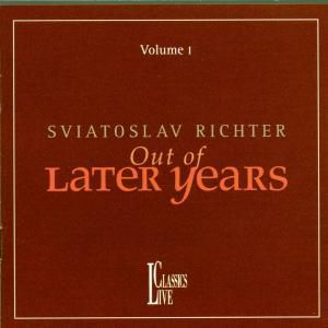 Out Of Later Years 1, Svjatoslav Richter