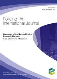 Outcomes of the National Police Research Platform