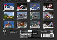 outdoor - action Sportfotografie (Wandkalender 2019 DIN A4 quer) - Produktdetailbild 13