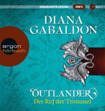 Outlander - Der Ruf der Trommel, 7 MP3-CDs, Diana Gabaldon