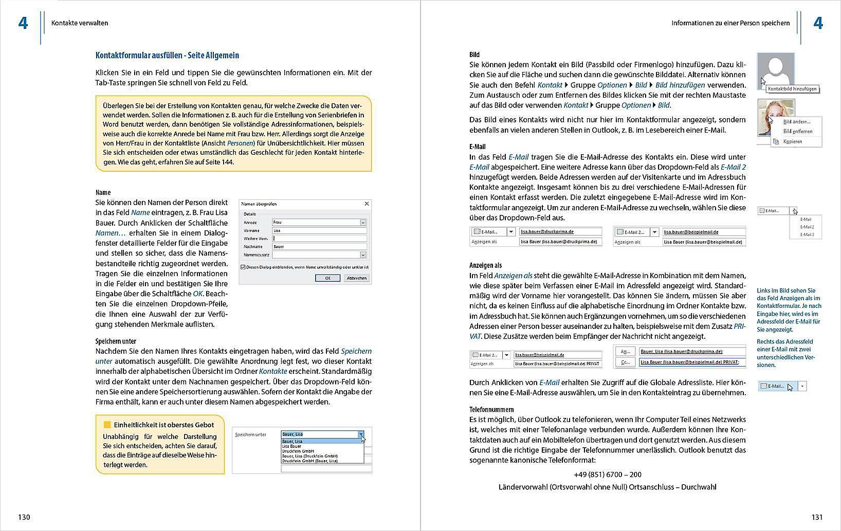 Outlook 2019 Grundlagen Und Aufbauwissen Buch