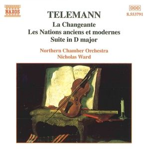 Ouvertüre-Suiten, Nicholas Ward, Northern Chamber Orchestra