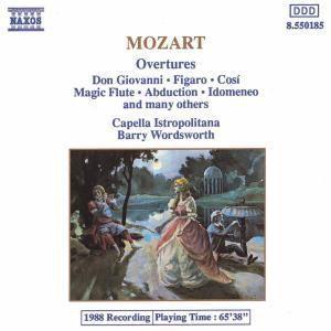 Ouvertüren, Wolfgang Amadeus Mozart