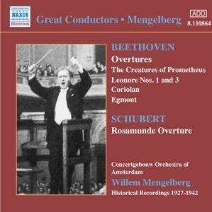 Ouvertüren/Geschöpfe Des Prome, Willem Mengelberg, Concertgebou