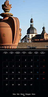 Over the Roofs of Mannheim (Wall Calendar 2019 300 × 300 mm Square) - Produktdetailbild 5