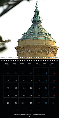 Over the Roofs of Mannheim (Wall Calendar 2019 300 × 300 mm Square) - Produktdetailbild 3