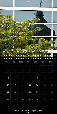Over the Roofs of Mannheim (Wall Calendar 2019 300 × 300 mm Square) - Produktdetailbild 6