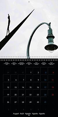 Over the Roofs of Mannheim (Wall Calendar 2019 300 × 300 mm Square) - Produktdetailbild 8