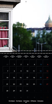 Over the Roofs of Mannheim (Wall Calendar 2019 300 × 300 mm Square) - Produktdetailbild 10