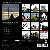 Over the Roofs of Mannheim (Wall Calendar 2019 300 × 300 mm Square) - Produktdetailbild 13