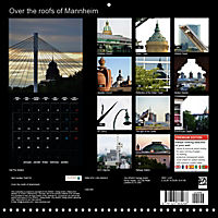 Over the Roofs of Mannheim (Wall Calendar 2019 300 × 300 mm Square) - Produktdetailbild 13