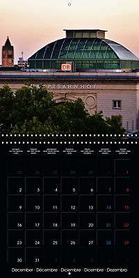 Over the Roofs of Mannheim (Wall Calendar 2019 300 × 300 mm Square) - Produktdetailbild 12