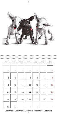 owls and mates 2019 (Wall Calendar 2019 300 × 300 mm Square) - Produktdetailbild 12