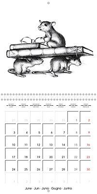 owls and mates 2019 (Wall Calendar 2019 300 × 300 mm Square) - Produktdetailbild 6