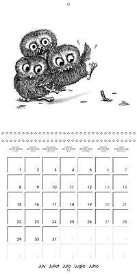 owls and mates 2019 (Wall Calendar 2019 300 × 300 mm Square) - Produktdetailbild 7