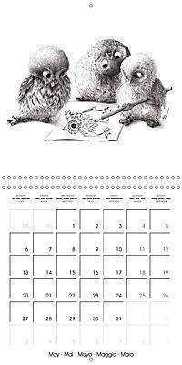 owls and mates 2019 (Wall Calendar 2019 300 × 300 mm Square) - Produktdetailbild 5