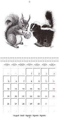 owls and mates 2019 (Wall Calendar 2019 300 × 300 mm Square) - Produktdetailbild 8