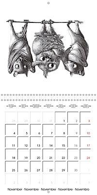 owls and mates 2019 (Wall Calendar 2019 300 × 300 mm Square) - Produktdetailbild 11