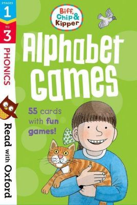 Oxford Reading Tree Read With Biff, Chip, and Kipper Flashcards: Alphabet Games, Roderick Hunt, Kate Ruttle