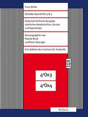 Oxforder Quarthefte 3 & 4, m. CD-ROM - Franz Kafka pdf epub