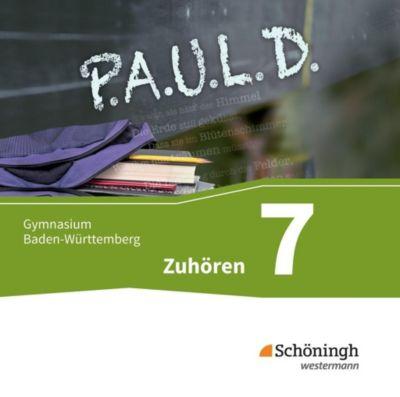 P.A.U.L. D., Ausgabe Gymnasium Baden-Württemberg: 7. Klasse, Zuhören, Audio-Doppel-CD