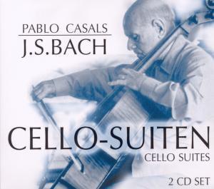 Pablo Casals - Cello-Suiten, 2 CDs, Johann Sebastian Bach