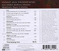 Paderewski Plays Liszt/+ - Produktdetailbild 1