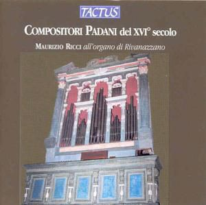 Paduanische Kompositionen Des 16.Jahrhunderts, Maurizio Ricci