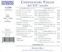 Paduanische Kompositionen Des 16.Jahrhunderts - Produktdetailbild 1
