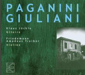 Paganini,Giuliani, Jäckle, TREIBER