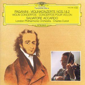 Paganini: Violin Concertos Nos.1 & 2, Accardo, Dutoit, Lso