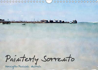 Painterly Sorrento (Wall Calendar 2019 DIN A4 Landscape), Jill Robb