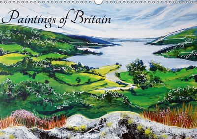 Paintings of Britain (Wall Calendar 2019 DIN A3 Landscape), Laura Hol