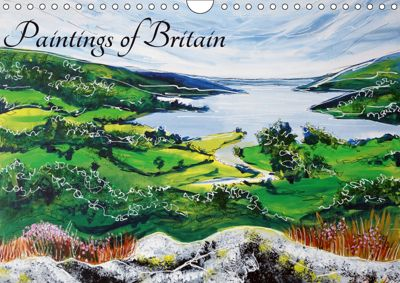 Paintings of Britain (Wall Calendar 2019 DIN A4 Landscape), Laura Hol